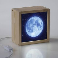 Items similar to Light Box Swallows on Etsy Wood Crafts, Diy And Crafts, Battery Powered Led Lights, Neon Box, Recycled Decor, Corner Lamp, Licht Box, Crafts For Seniors, Light Crafts
