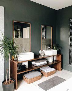 Modern home design Doors Interior, Modern Bedroom Decor, Bathroom Interior, Modern White Bathroom, Interior Design, Wood Doors Interior, Decor Interior Design, Interior, Interior Design Instagram
