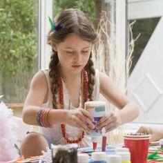 Make craft slime using basic household materials.