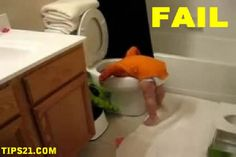 Sticking head of another in the toilet-Disgusting things done by kids in absence of parents