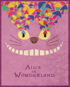 Alice in Wonderland...posters de películas...buena idea :)