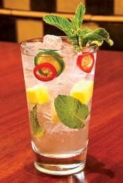 substitute sprite and simple syrup with seirra mist and you have yourself a low-cal beverage.