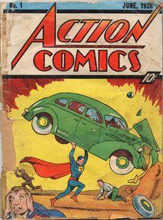 Primera historieta de Superman