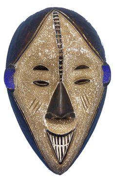 Buy African Tribal Art   Tribal Masks   African Wall art   Ibo Mask