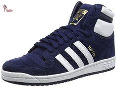 adidas Originals  TOP TEN HI, Sneakers Basses homme - Bleu - Blau (Collegiate Navy/Ftwr White/Collegiate Navy), 42 - Chaussures adidas originals (*Partner-Link)