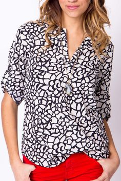 Abstract Black and White Popover   a-thread