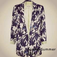 Tropical print blazer #wedding guest style Spring/Summer 2014  Get the look: http://www.redsevenleisure.co.uk/blog/2014/03/going-to-a-wedding-in-2014-heres-the-wearable-ss14-trends-you-need-to-know-about/