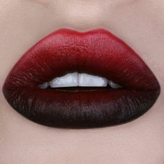 Prepare To Blend With The Hottest Ombre Lip Looks