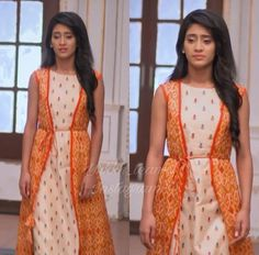 naira indian outfits in yrkkh & yrkkh outfits naira ; naira outfits in yrkkh ; naira indian outfits in yrkkh ; Indian Attire, Indian Outfits, Indian Wear, Saree Dress, I Dress, Ballroom Costumes, Dress Indian Style, Cute Girl Photo, Indian Designer Outfits