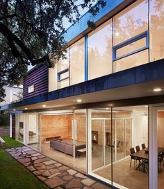 Modern house decor Wood and cement (2)