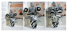 Lookout there is a Zebra about!  Just another of our fantastic Keyring Creations.  https://www.facebook.com/pages/JJ-Monkey/188150785126