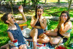 Roupa pra curtir o verão! Regata + Short + Top + Calça (hot pant) #swimsuit #roupaprabanho #slowfashion