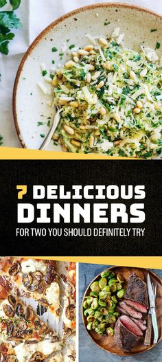 7 Delicious Dinners For Two You Should Definitely Try