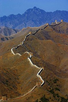 Great Wall of China by Henry Kowalski #greatwallofchina #china