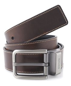 Kenneth Cole Reaction Leather Reversible Casual Belt - Reaction Bags & Accessories - Men - Macy's