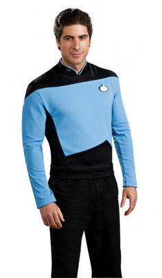 T-Shirt Bleu  Spock ™ Star Trek  Nouvelle Génération