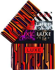 LUXE World Grand Tour Box (Luxe City Guides) - http://www.cheaptohome.co.uk/luxe-world-grand-tour-box-luxe-city-guides/  LUXE World Grand Tour Box (Luxe City Guides) Short Description Want the world in a box? Well, you got it.How damn glam is this? A blaze of colour-blocked fiery pomegranate, blood orange, amber and rich aubergine interspersed with sleek carbon suede-flocked stripes in a dazzling, spot-on trend colour-saturated urban skyline motif. Hell, yeah! The grandslam,