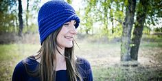 This crochet pattern is for a 1920's style cloche hat.