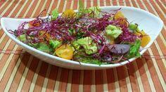 Šalát s cviklovými klíčkami - Powered by Cabbage, Vegetables, Food, Essen, Cabbages, Vegetable Recipes, Meals, Yemek, Brussels Sprouts