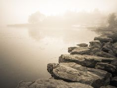Misty coast by Lidia, Leszek Derda on 500px