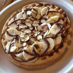 Tiabi Coffee & Waffle - Las Vegas, NV, United States. Banana Nutella Vegan Waffle