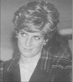 January 29, 1991:  Princess Diana visits the Mail Sorting Office in Truro, Cornwall.