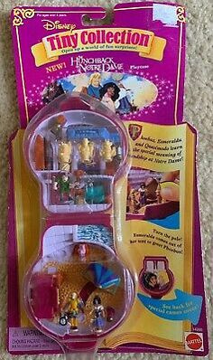 RARE 1996 Disney Tiny Collection Hunchback of Notre Dame Boys & Girls 3 and up for sale online 90s Toys, Retro Toys, Barbie Doll Set, Barbie 90s, Polly Pocket World, Poly Pocket, Toys Land, Backyard For Kids, Lol Dolls