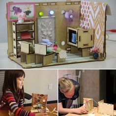 Roominate Toy--fosters math & science w/a diy dollhouse that kids can wire w/ electricity & tech it up.  brilliant!