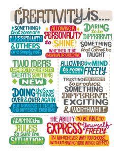 Creativity is...    #creativity #innovation