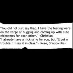 """""""Shadow Kiss"""" Richelle Mead"""