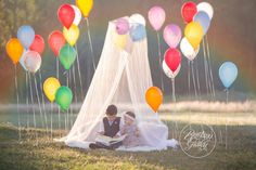 Rainbow Dream Session | Rainbow Baby | 12 Months | Oh The Places You'll Go