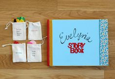 So cute! A DIY Felt Board Book with a stretchy pocket at the back to hold all the felt story pieces.