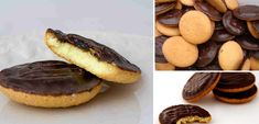 How to make known to all-biscuit cupcakes with orange and chocolate (Jaffa cakes), the toftiaxa. Pear Recipes, Candy Recipes, Cookie Recipes, Biscuit Cupcakes, Cupcake Cakes, Chocolate Sweets, Delicious Chocolate, Cookie Desserts, Fun Desserts