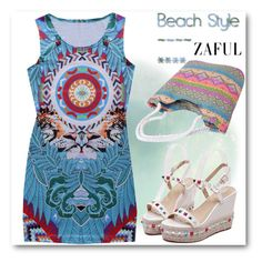 """Zaful 57 (30.03.2016. #1)"" by oliverab ❤ liked on Polyvore featuring beach and zaful"