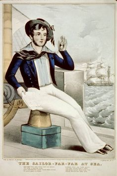 History of early US Navy Uniforms.