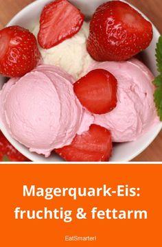 Magerquark-Eis: fruchtig & fettarm   eatsmarter.de #magerquarkrezepte #eisrezepte
