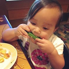 Grubbing on Broccoli