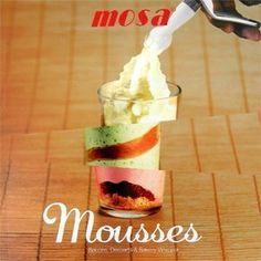 Mosa Mousses Recipe Book by Mosa. $13.00. This book uncovers the secrets of an innovating form of cooking using cream whippers -- the ess.... 68 pages, softcover. This book uncovers the secrets of an innovating form of cooking using cream whippers -- the essential tool for making savoury, sweet, hot, or cold creams which are all the rage with the most fashionable caterers and restaurants. Step behind the scenes with chef Jean-Claude Fascine who serves up the technique along with ...