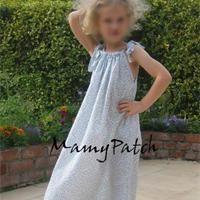 Chemise de nuit enfant Patron couture gratuit