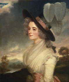 Elizabeth Beresford (1762-1833) by John Hoppner, c 1790