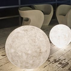 Outdoor Luna Lamp by in-es. artdesign | MONOQI #bestofdesign-to go with the moon pendant lights I already pinned!