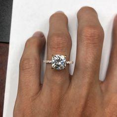 Handmade Engagement Rings, Rose Gold Engagement Ring, Engagement Ring Settings, Vintage Engagement Rings, Diamond Wedding Bands, Wedding Rings, Halo Engagement, Diamond Cluster Ring, Anniversary Rings