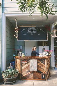 Inexpensive backyard wedding decor ideas 19