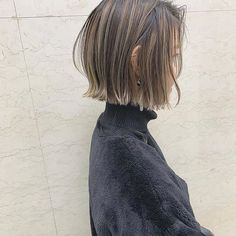 68 Bob Hairstyles for 2019 - Hairstyles Trends Shaggy Bob Haircut, Line Bob Haircut, Short Hair With Bangs, Short Hair Cuts, Short Hair Styles, Bob Hairstyles For Fine Hair, Easy Hairstyles, Hight Light, Blunt Hair