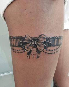 Tattoos for women – Tattoos And Dope Tattoos, Baby Tattoos, Leg Tattoos, Body Art Tattoos, Thigh Garter Tattoo, Lace Garter Tattoos, Lace Tattoo, Tattoos For Women Half Sleeve, Tattoos For Women Small