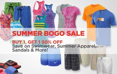 23256e978824 Sports Authority Coupon  Buy 1 Get 1 50% Off! Summer Savings BOGO Event