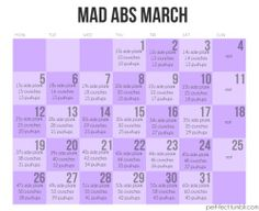 OK! It's March 1st and who's up for this challenge?