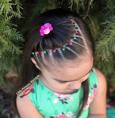 It can be quite a hard condition so that you can decide the hairstyle on your your personal event so we are providing a brief account of the finest wedding hairstyles which will never walk out of fashion. Easy Toddler Hairstyles, Cute Little Girl Hairstyles, Baby Girl Hairstyles, Braided Hairstyles, Wedding Hairstyles, Cool Hairstyles, Girl Hair Dos, Hair Upstyles, Natural Hair Styles