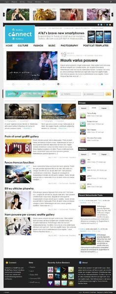 Connect WP Theme