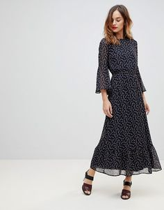465e82fcd72 Y.A.S Printed Soft Maxi Dress. Mode OnlineCool StyleFashion OnlineAsosCold  Shoulder ...
